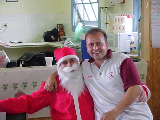 Santa & John
