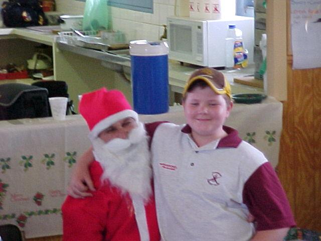 Santa & Josh