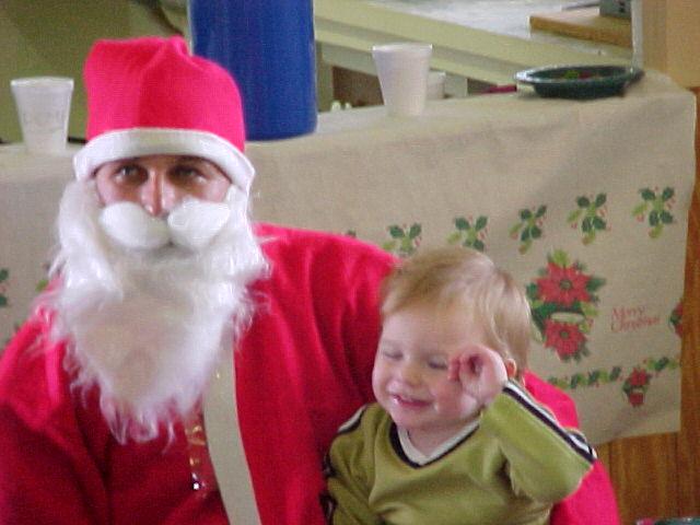 Lachlan & Santa