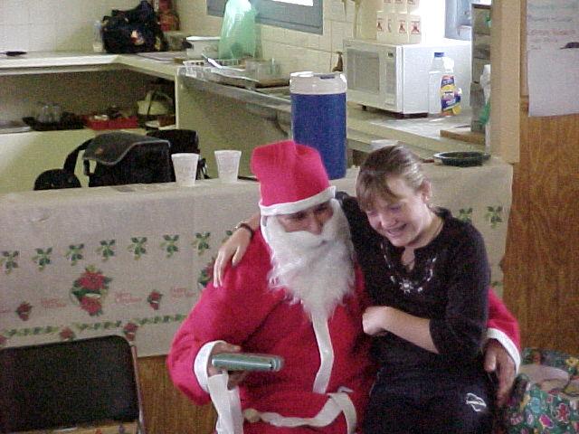 Santa & Sarah