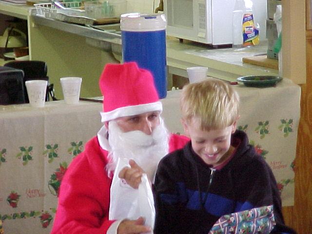 Santa & Brandon